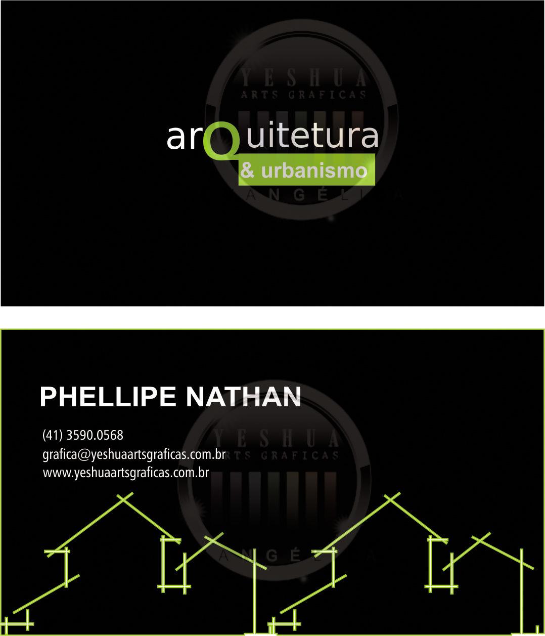Fabuloso Cartão de Visita Arquiteto | Arte e Frete Grátis KS21