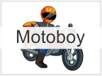 Cartão de Visita Motoboy - Mototaxi